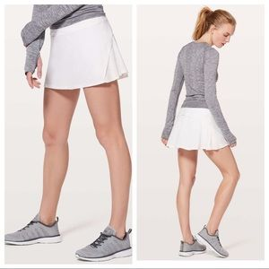 NEW Lululemon Play off the Pleats Skirt